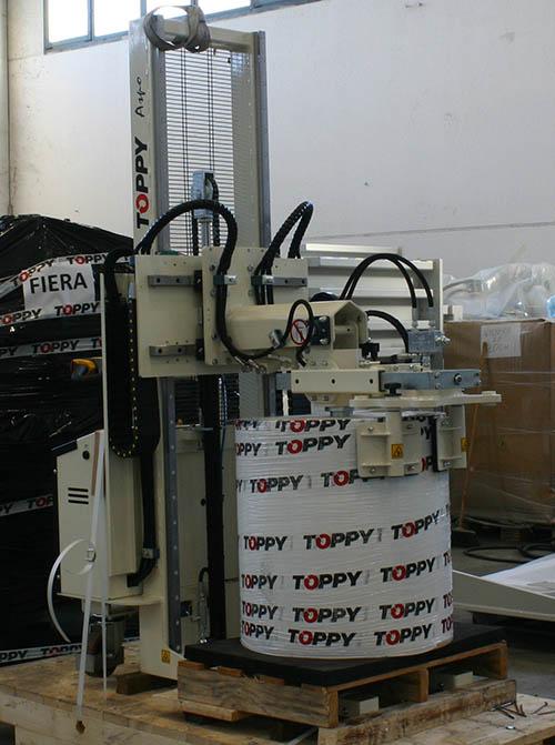 girabobina usato toppy aspo 300 label