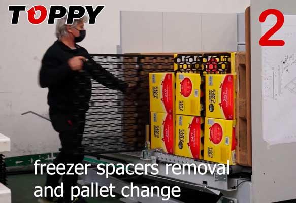 Freezer Spacer - Pallet Inverter